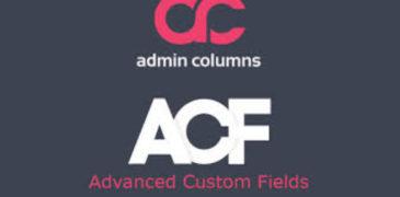 [Share Plugin WordPress] Admin Columns Pro – Advanced Custom Fields Addon V2.5.5 Mới Nhất