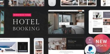 [Share Theme WordPress] Hotel Booking – Hotel WordPress Theme V1.4 Mới Nhất