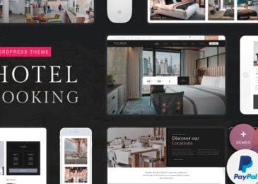 [Share Theme WordPress] Hotel Booking – Hotel WordPress Theme V1.4 Mới Nhất