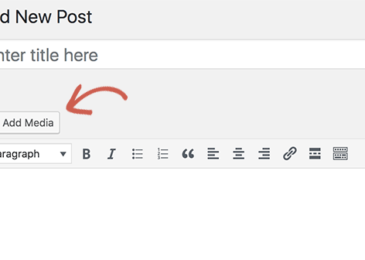 Cách khắc phục nút thêm ảnh không hoạt động trong WordPress