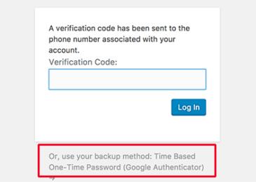Nhập mã xác thực hai bước