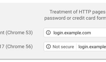 Chrome HTTP không an toàn
