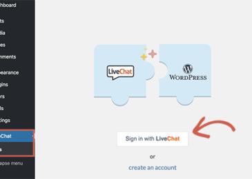 Kết nối Live Chat với trang WordPress của bạn
