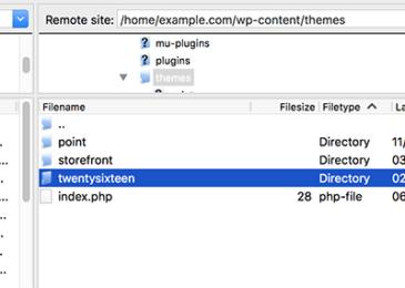 Cách thay đổi WordPress chủ đề thông qua phpMyAdmin