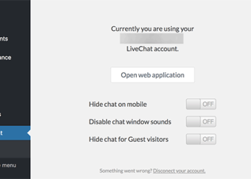 Cài đặt LiveChat cho WordPress