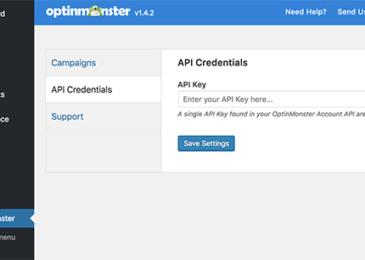 Nhập khóa API của bạn