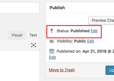 Cách thêm trạng thái bài đăng tùy chỉnh cho bài đăng trên blog trong WordPress