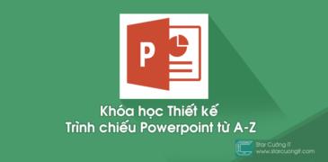 Chia sẻ khóa học Thiết kế trình chiếu Powerpoint từ Y-X