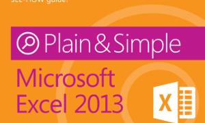 [Free Ebook]Microsoft Excel 2013 Plain Simple, Excel Formulas Tutorial