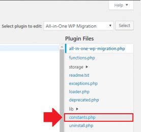 Hướng dẫn tăng giới hạn import plugin All-in-One WP Migration
