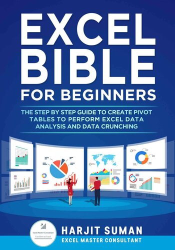 Book cover Excel Formulas and Functions : the Complete Excel Guide for Beginners