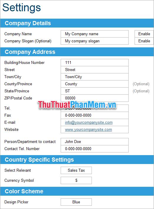 File Excel quản lý hồ sơ chất lượng 2