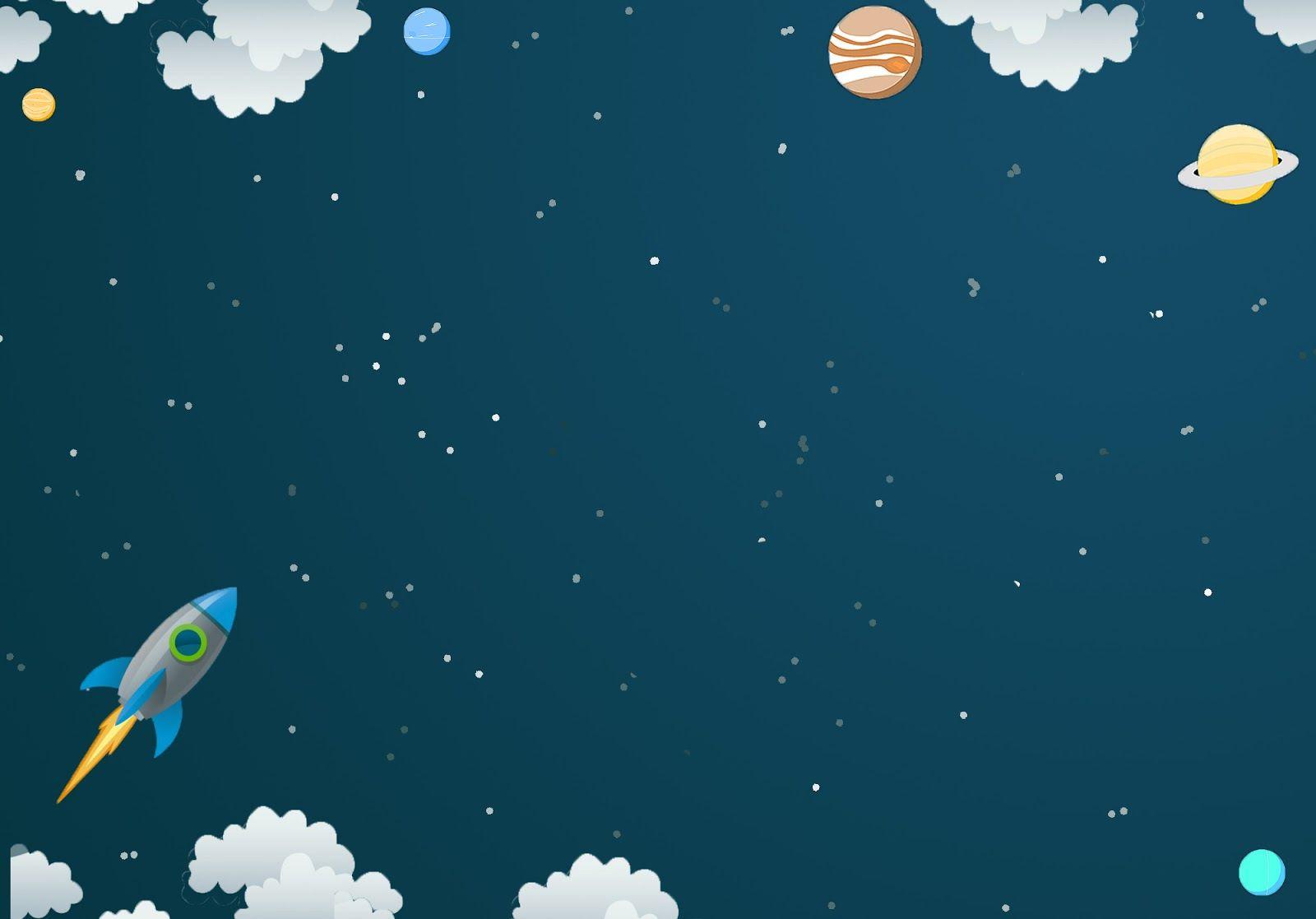Hình ảnh background bầu trời ngoài không gian