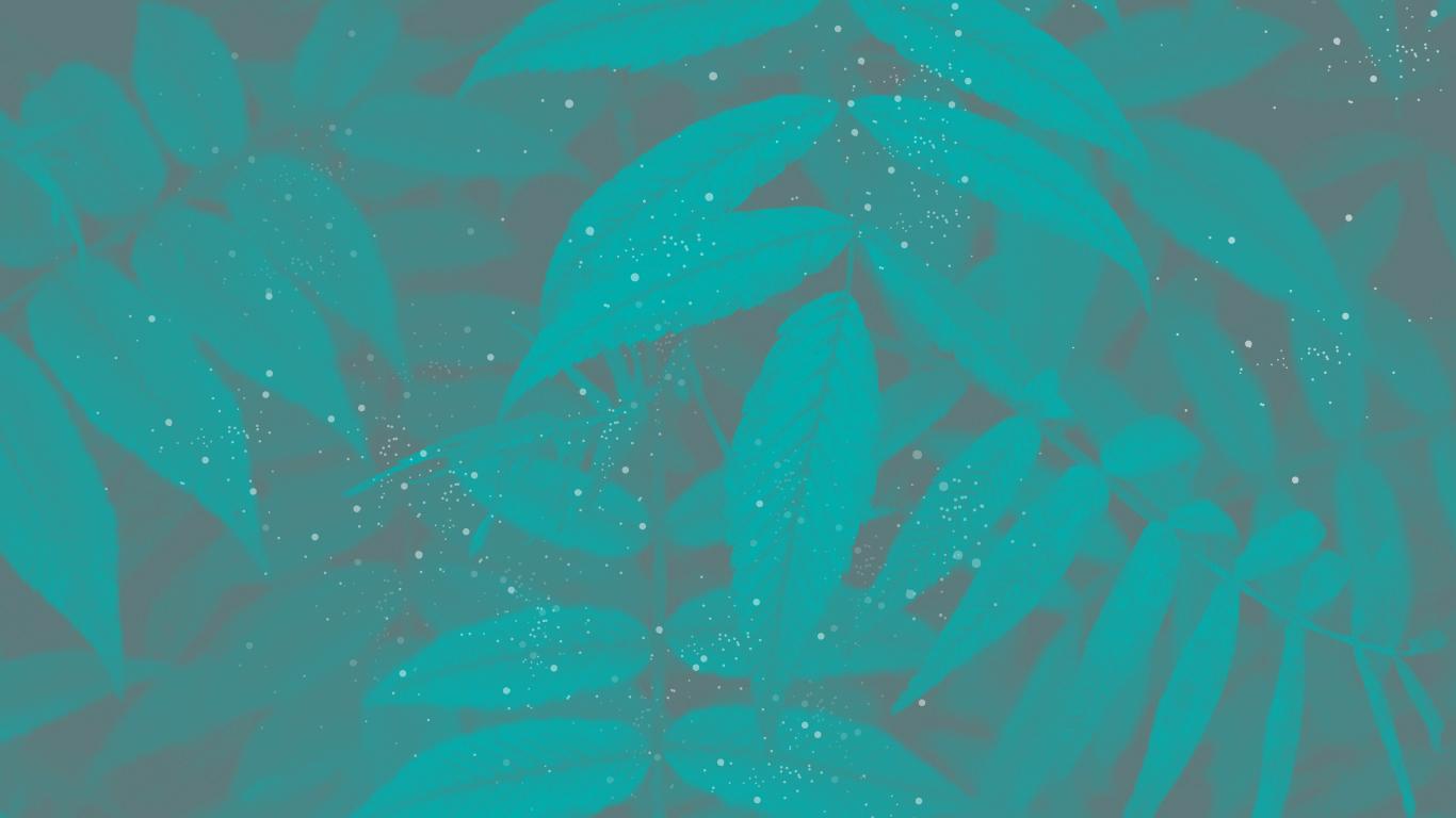 Hình ảnh background cành cây lá xanh màu sắc cực ảo