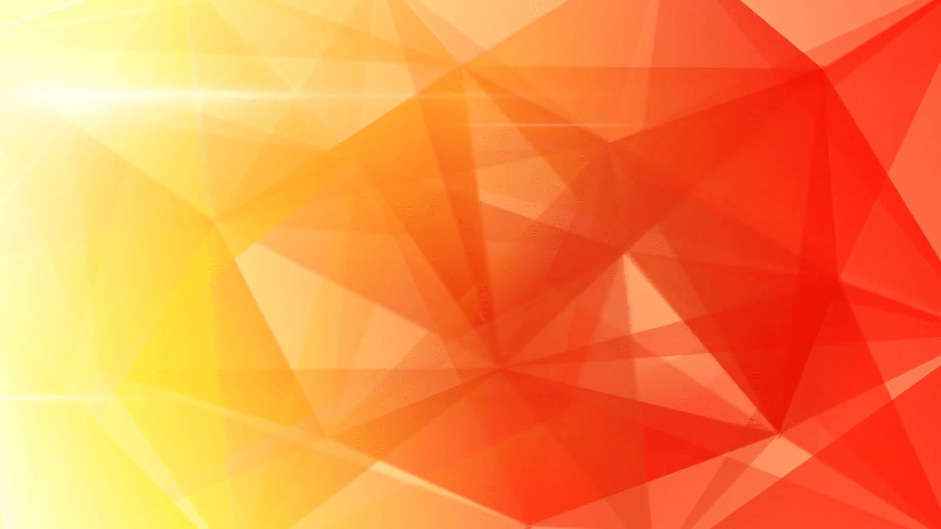 Hình ảnh background hình tam giác đan xen gam màu ấm