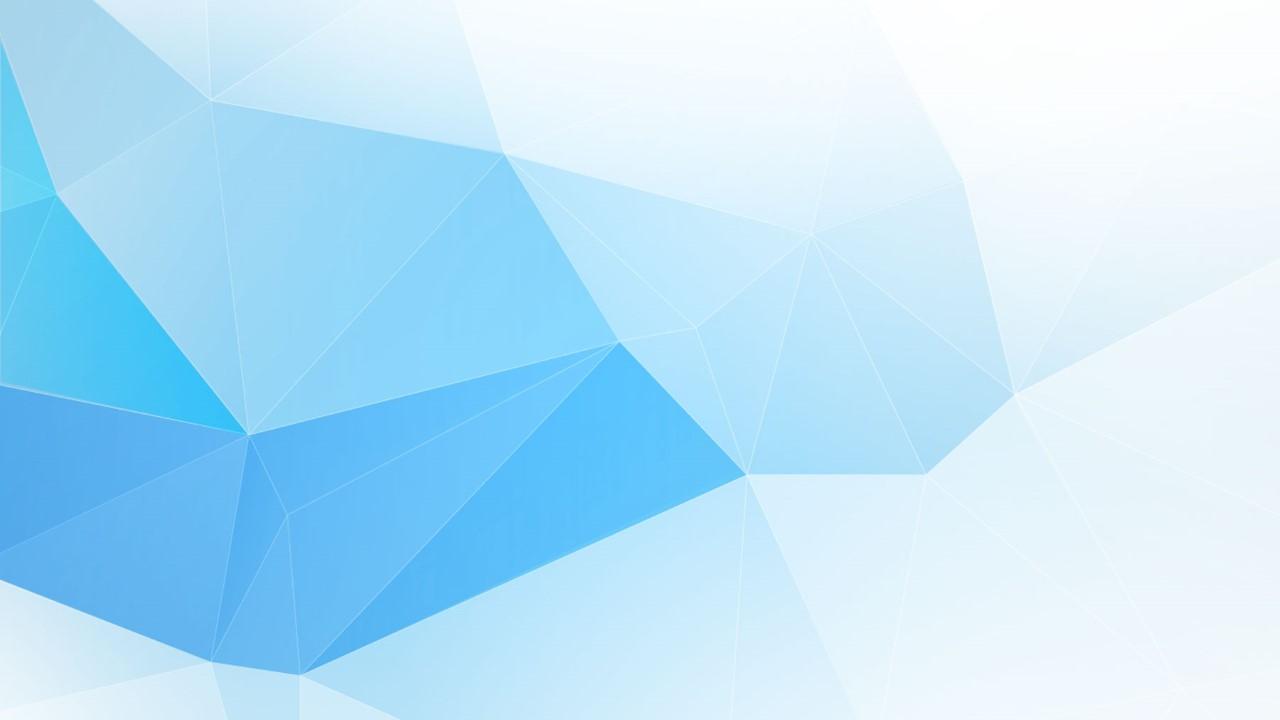 Hình ảnh background mảng màu tam giác xanh trắng