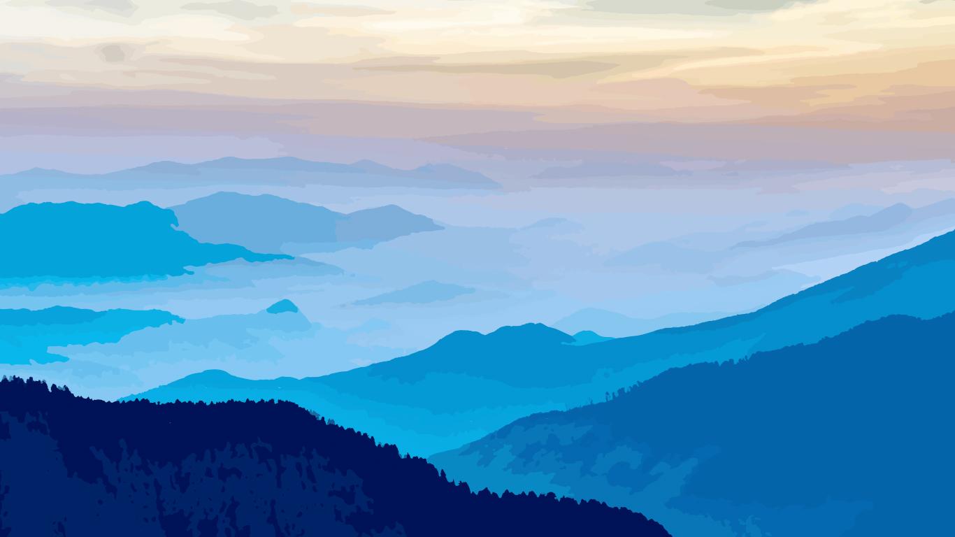 Hình ảnh background mây và núi