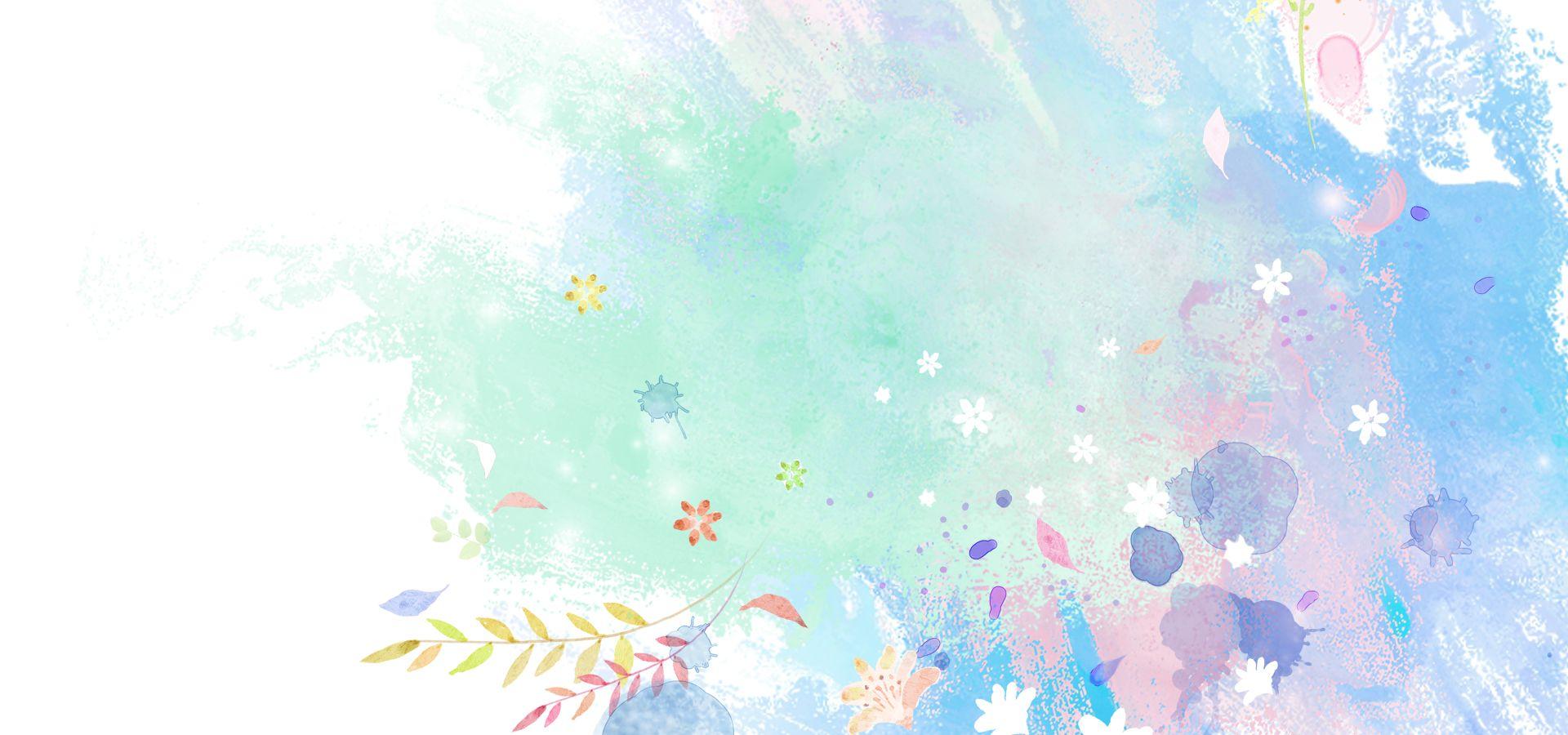 Hình ảnh background những mảng màu tươi xinh